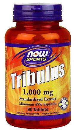 TRIBULUS TERRESTRIS 1000MG (90 CÁPSULAS) - NOW SPORTS