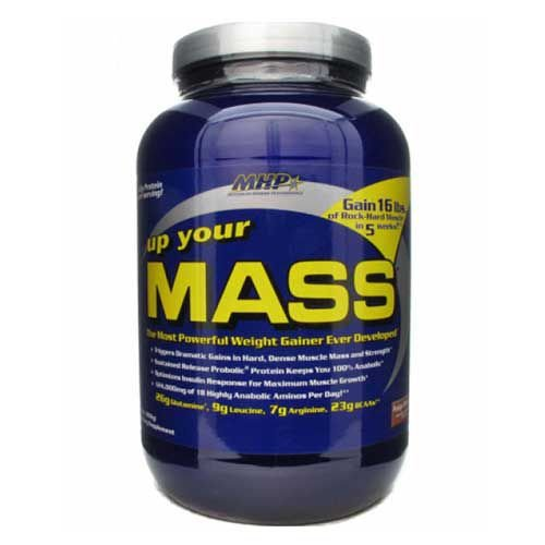 UP YOUR MASS (908G) - FUDGE BROWNIE -  MHP