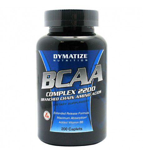 BCAA COMPLEX 2200 (200 CÁPSULAS) - DYMATIZE