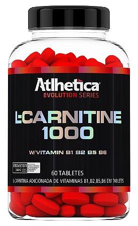 L-CARNITINE 1000 (60 TABLETES) - ATLHETICA