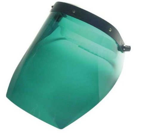 Protetor Facial Verde 10 Polegadas com Catraca T2000 Carbografite CA 6137