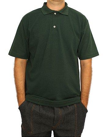 Camisa Polo Verde Escuro