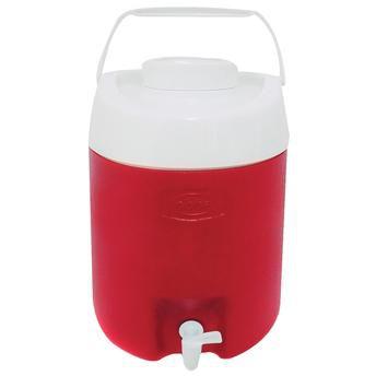 Botijão Térmico Obba Ice 12 Litros Vermelho Com Torneira
