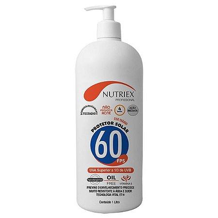 Protetor Solar Nutriex UV FPS 60 1 Litro