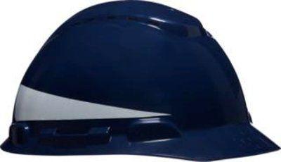 Casco H-700 Azul Escuro com Refletivo e Ventilado 3M CA 29637