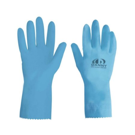 Luva de Latex Maxi Azul Danny DA-300 CA 13301