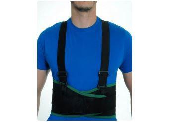 Protetor Lombar Reto com Suspensório Mazola TAM.GG/XG