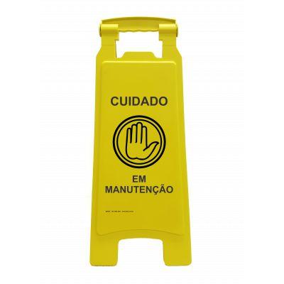 PD609 PLACA DOBRA CUIDADO EM MANUTENÇÃO