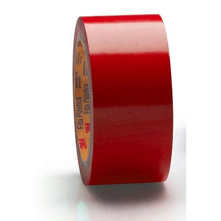 Fita de Demarcação de Solo 3M 50mm x 30mt Vermelha
