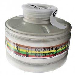 Filtro Air Safety 9000 ABEK Dióxido de Enxofre e Amônia para Mascara Full Face Standard P2 MULTIGASES