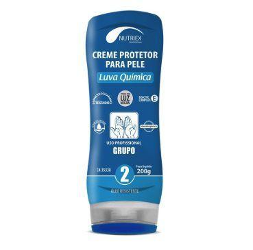 Creme Proteção Pele Luva Química Grupo 2 CA 35338 200g  NUTRIEX