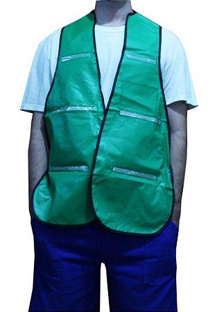 Colete Blusão em PVC Verde