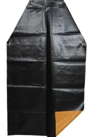 AVENTAL DE PVC KP1000 LAR/PRETO 1,20 X 70CM 21208