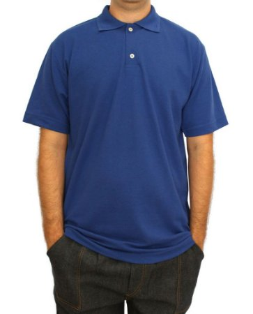 CAMISA POLO AZUL ROYAL M