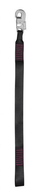 Talabarte em Fita 90cm Conector 18mm Mult 1879 DW TALABARTE MULT-1879 FITA GANCHO 18MM