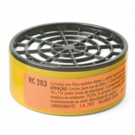 Filtro RC 203 para Máscara CG 306 Carbografite CA 7072