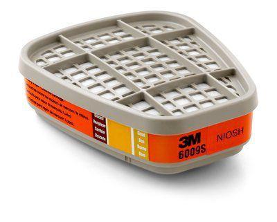 Filtro 3M 6009S/10 - Mercurio, Cloro, Dióxido de Enxofre Pacote com 2 Unidades