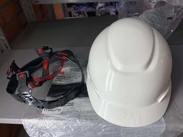CAPACETE 3M H-700 C/ CARNEIRA CA 29638 (B) COR:BRANCO