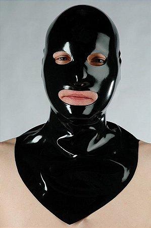 Máscara de Látex Aberta c/ Gola