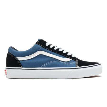 6f77e70800 VANS OLD SKOOL - AZUL E BRANCO - Dm Shop Store