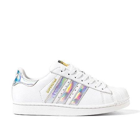 4c26a237c14 Tênis adidas Superstar Holográfico - Dm Shop Store