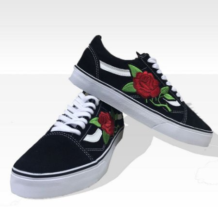 vans old skool detalhe de rosa dm shop store site oficial. Black Bedroom Furniture Sets. Home Design Ideas