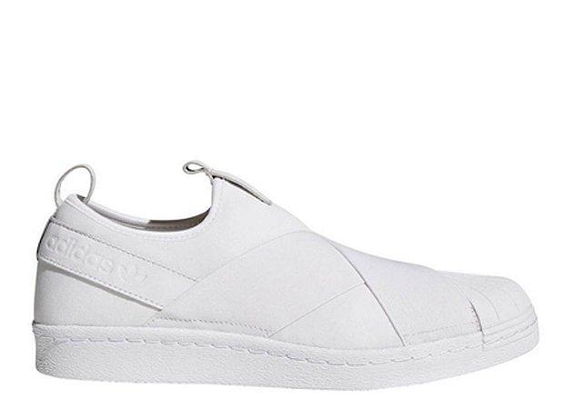 Adidas Tênis Superstar Branco On Slip E2YIWD9H