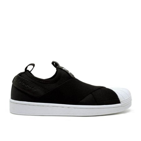 new style 26835 425cb TÊNIS ADIDAS SUPERSTAR SLIP ON - PRETO
