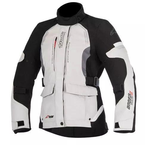 Jaqueta Moto Feminina Alpinestars Andes V2 Pt Cz Impermeável