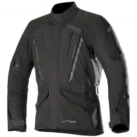 Jaqueta Moto Alpinestars Volcano Preta Impermeável