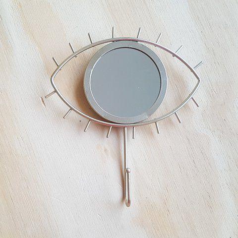 Cabideiro com espelho eye