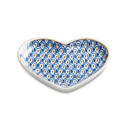 Mini Prato Decorativo Coração
