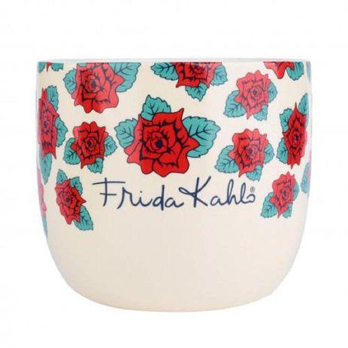 Cachepot cerâmica Frida Kahlo