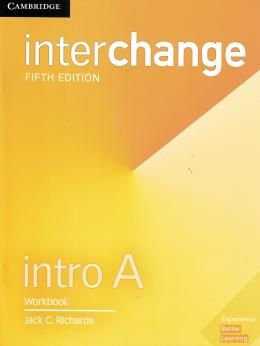 INTERCHANGE INTRO A WORKBOOK - 5TH ED