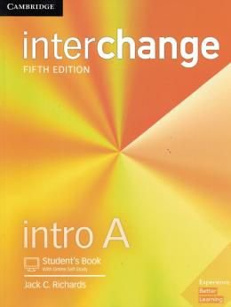 INTERCHANGE INTRO A STUDENT´S BOOK WITH ONLINE SELF-STUDY - 5TH ED