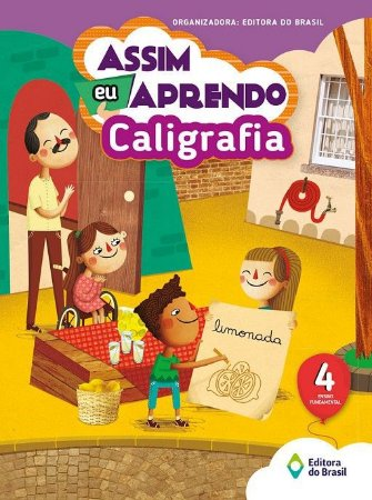 ASSIM EU APRENDO CALIGRAFIA 4 ANO