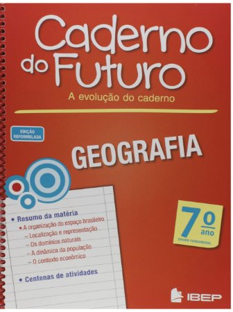 CADERNO DO FUTURO GEOGRAFIA 7 ANO