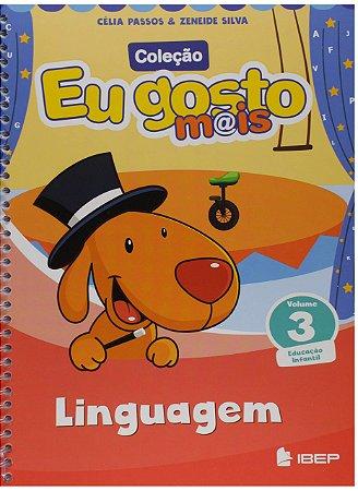EU GOSTO MAIS LINGUAGENS VOLUME 3