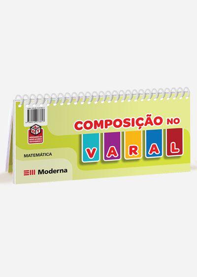 Livro-varal - Composição e decomposição no varal
