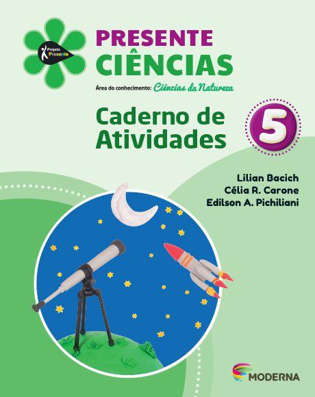 Presente - Ciências - 5º ano - Caderno de Atividades - 5ª edição
