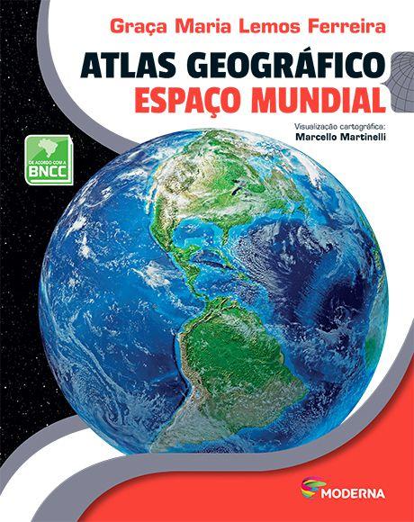 Atlas Geográfico - Espaço mundial - 5ª edição