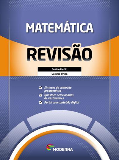 Caderno de revisão - Matemática