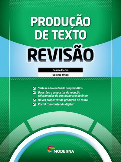 Caderno de revisão - Produção de Texto
