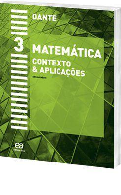 Matemática Contexto e Aplicações 3 - Ensino Médio