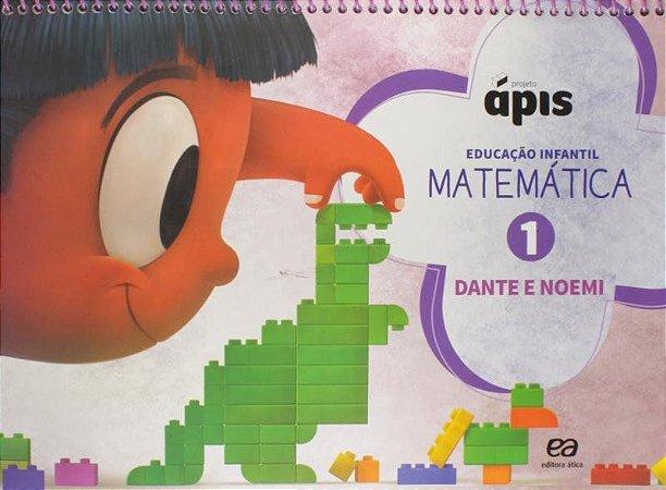 Projeto Ápis - Matemática - Vol. 1