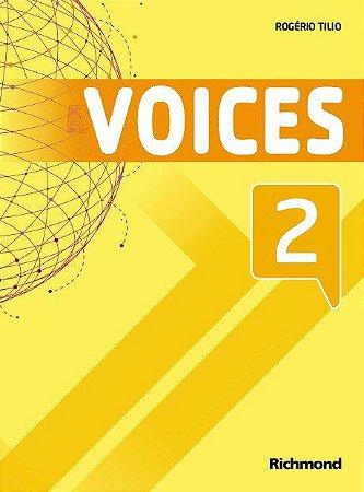 Voices 2 - Livro do Aluno + Multirom