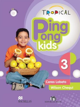 TROPICAL PING PONG KIDS 3 - STUDENTS PACK WITH AUDIO CD