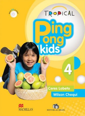 TROPICAL PING PONG KIDS 4 - STUDENTS PACK