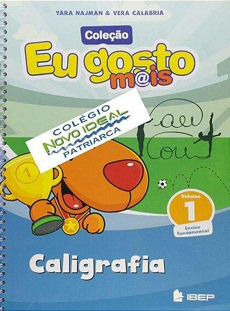 COLÉGIO NOVO IDEAL - CALIGRAFIA 1