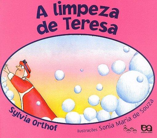 A Limpeza de Teresa - Col. Lagarta Pintada